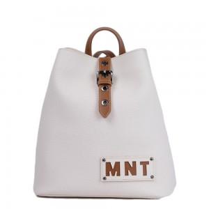 Τσάντα πλάτης εκρού 70-237