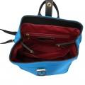 Γυναικεία τσάντα πλάτης Μπλέ 28-237
