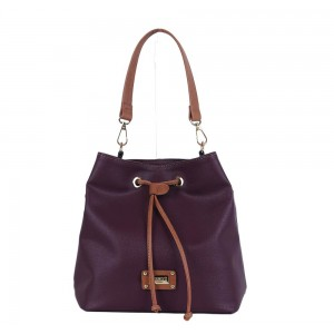 Τσάντα πουγκί Μπορντό 18-227