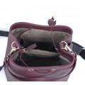 Τσάντα πουγκί Μπορντό 70-227