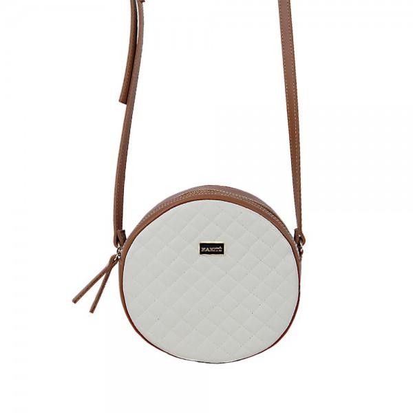Τσάντα χιαστί ταμπά-μπέζ 24-233