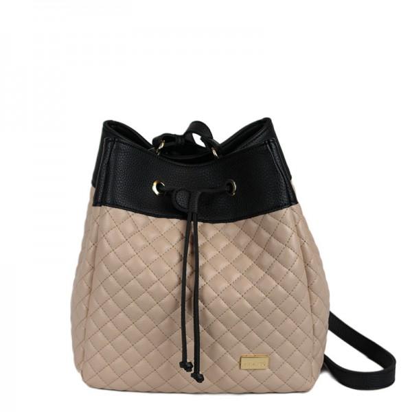 Τσάντα πουγκί καπιτονέ NUDE  24-236