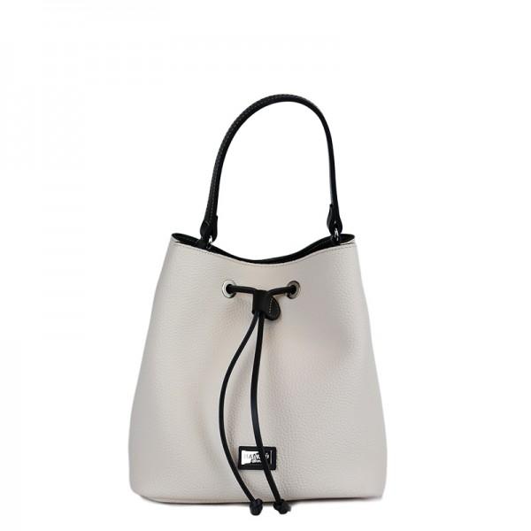 Τσάντα χιαστί πουγκί Μπέζ Εco leather 70-227