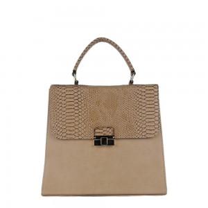 Τσάντα 60s Ταμπά κροκό 12-143