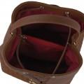 Τσάντα πουγκί Tαμπά καπιτονέ 24-227