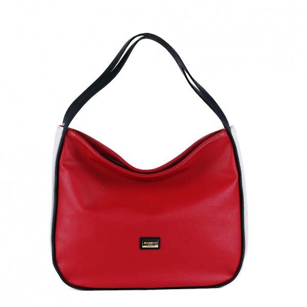 Τσάντα ώμου Κόκκινη 18-219