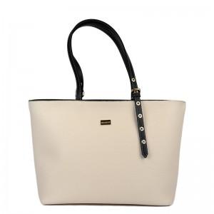 Γυναικεία τσάντα ώμου MANITU Μπέζ 70-247